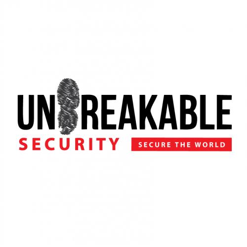 Unbreakable security logo