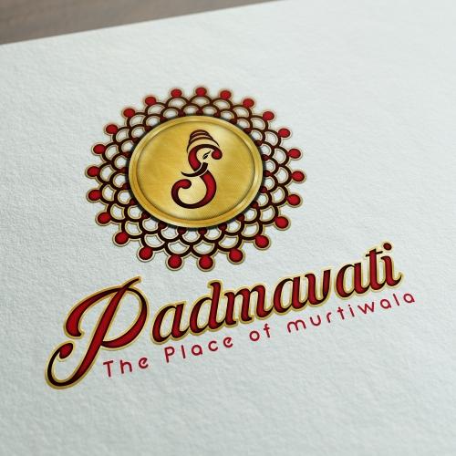 Padmavati Logo design