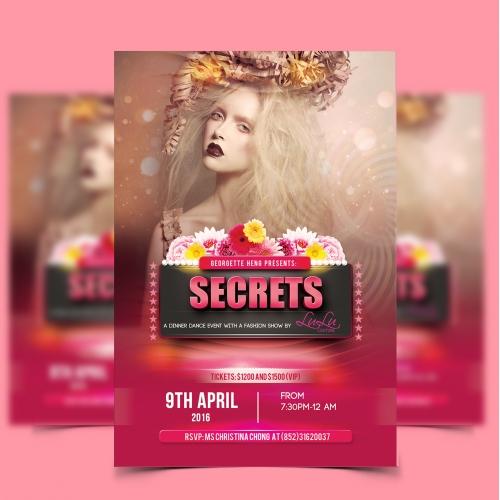Fashion Event Poster Design
