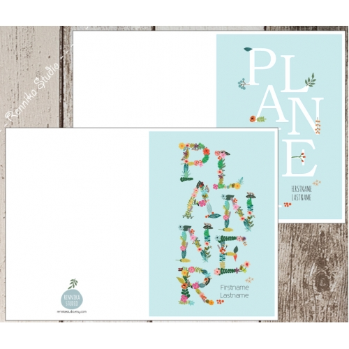 Planner Cover Design