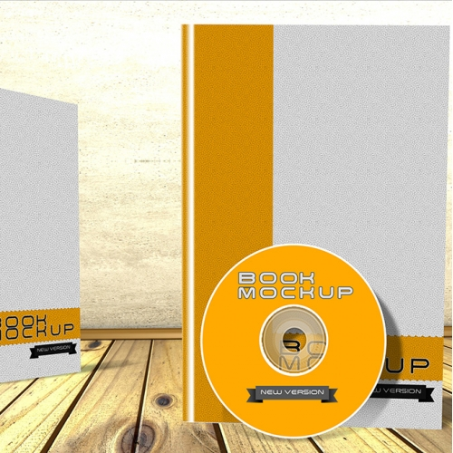 book and DVD mock up
