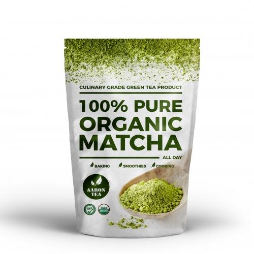 Matcha Tea Packaging Design