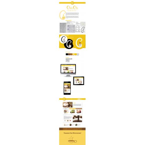Choco Chai - UX, Logo Design