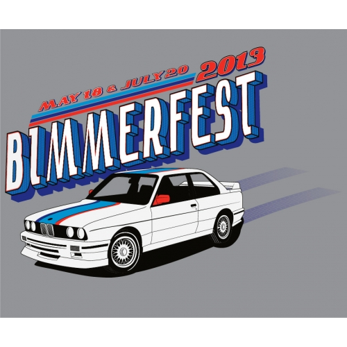 ANNUAL 2013 BIMMERFEST BMW EVENT SHIRT