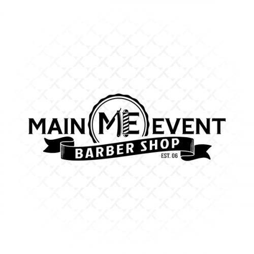 Main Event Barber Shop Logo