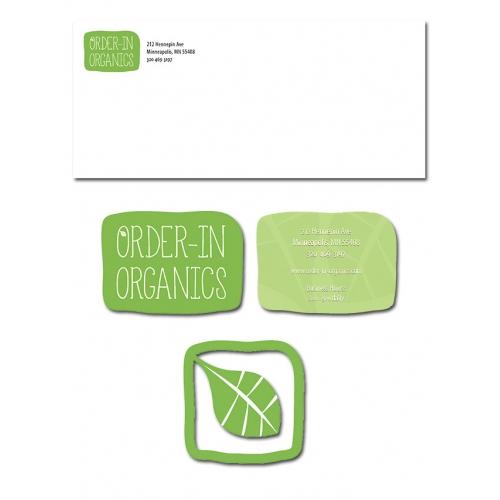Order-In Organics Branding
