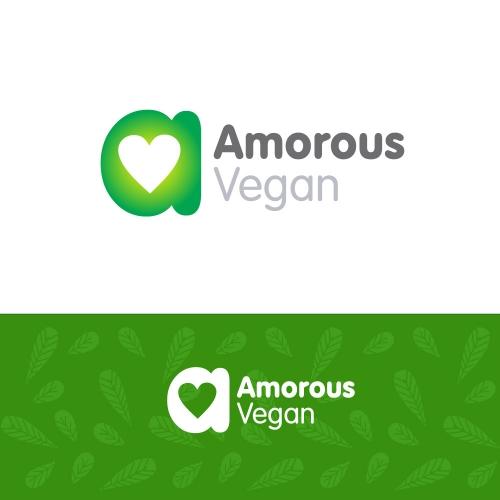 Amorous Vegan logo